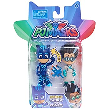 Just Play PJ Masks 2pk Light Up Figures Catboy vs. Romeo