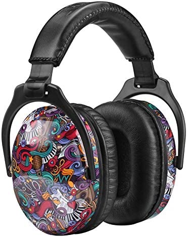 ZOHAN EM030 [Upgraded] Kids Ear Protection Safety Ear Muffs (Symbol Music)