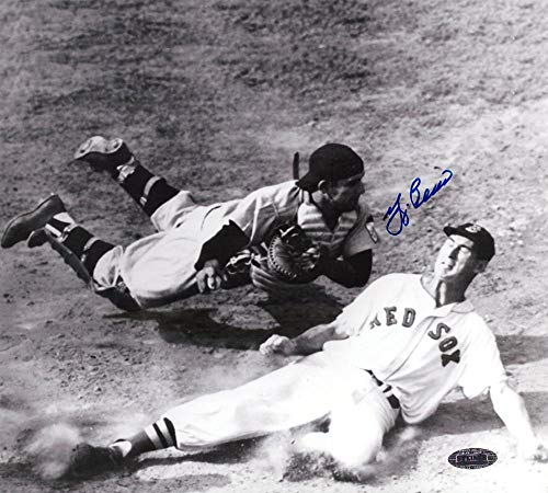 Autographed Yogi Berra Photograph - Black White 8x10 Ted Williams - Autographed MLB ()