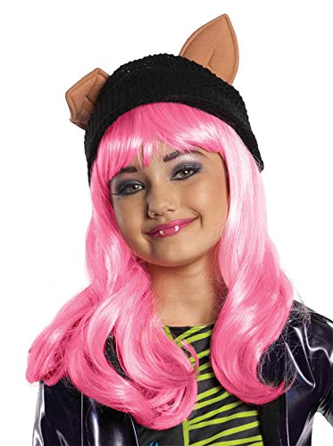 UHC Child Monster High Howleen Wig Headpiece Disguise Party Halloween Accessory ()