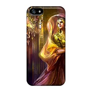 Awesome LauraGroff-Y Defender Tpu Hard Case Cover For Iphone 5/5s- Graceful Queen