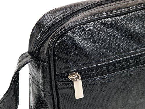 Le Temps des Cerises , Damen Umhängetasche schwarz schwarz Taille Unique