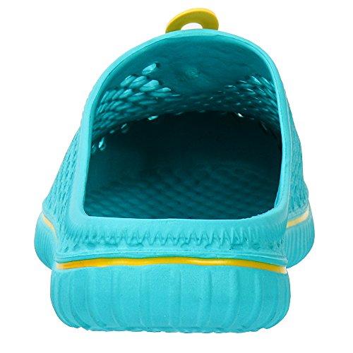 Light Sandal Walking Slippers Garden Blue Unisex Comfort Shoes ALEADER qEAwxzv