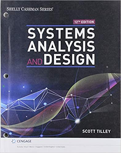 Amazon Com Bundle Systems Analysis And Design Loose Leaf Version 12th Mindtap 1 Term Printed Access Card 9780357237649 Tilley Scott Books