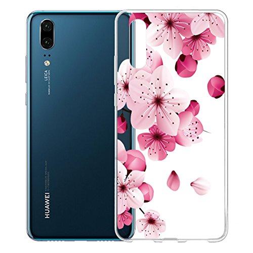 Funda para Huawei P20 , IJIA Transparente Adorable Pony TPU Silicona Suave Cover Tapa Caso Parachoques Carcasa Cubierta para Huawei P20 (5.8) WM113