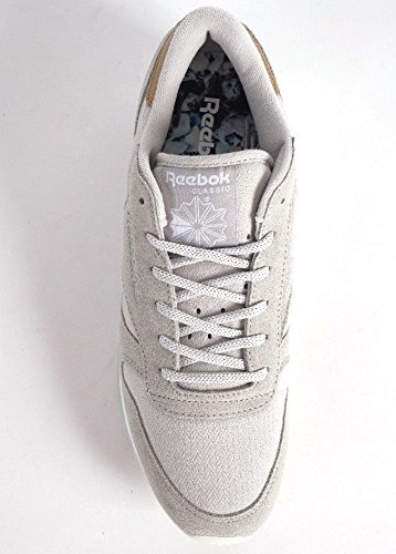 Reebok CL Leather Sea Worn W Calzado skull grey/white