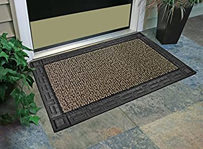 "GrassWorx Clean Machine Omega Doormat, 24"" x 36"""