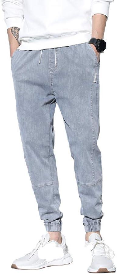 Pantalones Vaqueros para Hombres Monos Pantalones Sueltos de ...