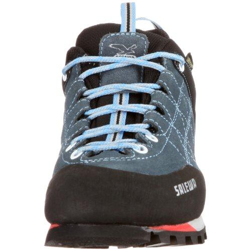 SALEWA Ws Mtn Trainer Gtx, Zapatillas de Senderismo para Mujer Gris (Cinder-Grey/Celeste)