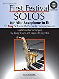 img - for WF122 - First Festival Solos for Alto Saxophone (with Piano Accompaniments) BK/MP3 book / textbook / text book