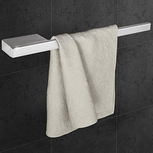 aquamarin portaasciugamani parete muro porta per bagno in acciaio lucido ca 39552 cm amazonit casa e cucina