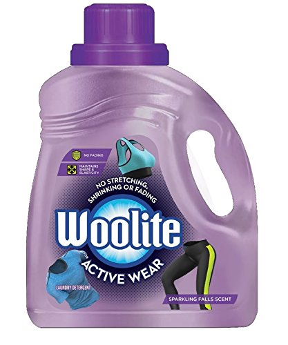 Woolite Active Wear Liquid Laundry Detergent, 100 Ounce
