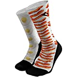 Bacon and Eggs Athletic Compression Dri-Fit Socks