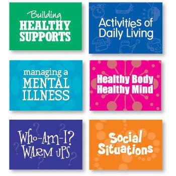 LifeSkills Card Decks for Adults Set of 6 by Childswork / Childsplay