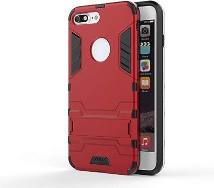 Cocomii Iron Man Armor iPhone 8 Plus/7 Plus Custodia, Sottile Magro Opaco Kickstand Verticale & Orizzontale Rinforzata Case Bumper Cover Paraurti ...