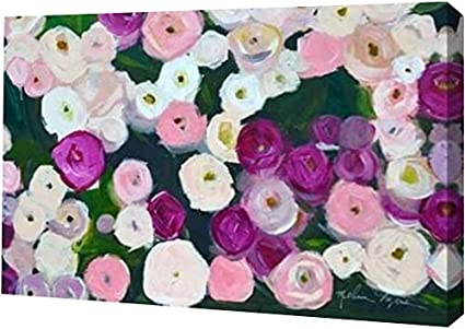 amazon com printart long roses by melissa lyons gallery wrapped