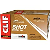 CLIF SHOT - Energy Gel - Mocha - With Caffeine 1.2 Ounce Packet, 24 Count