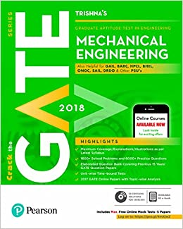 Buy gate mechanical engineering 2018 book online at low prices in buy gate mechanical engineering 2018 book online at low prices in india gate mechanical engineering 2018 reviews ratings amazon ccuart Choice Image