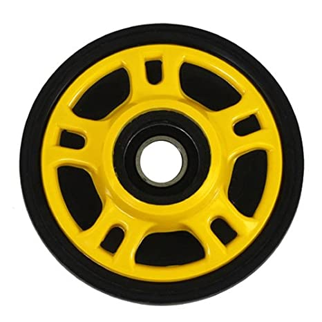 "Yellow Idler Wheel 7.125/"" X 20MM for ARCTIC CAT Sabercat 500//600//700 2004-2006"