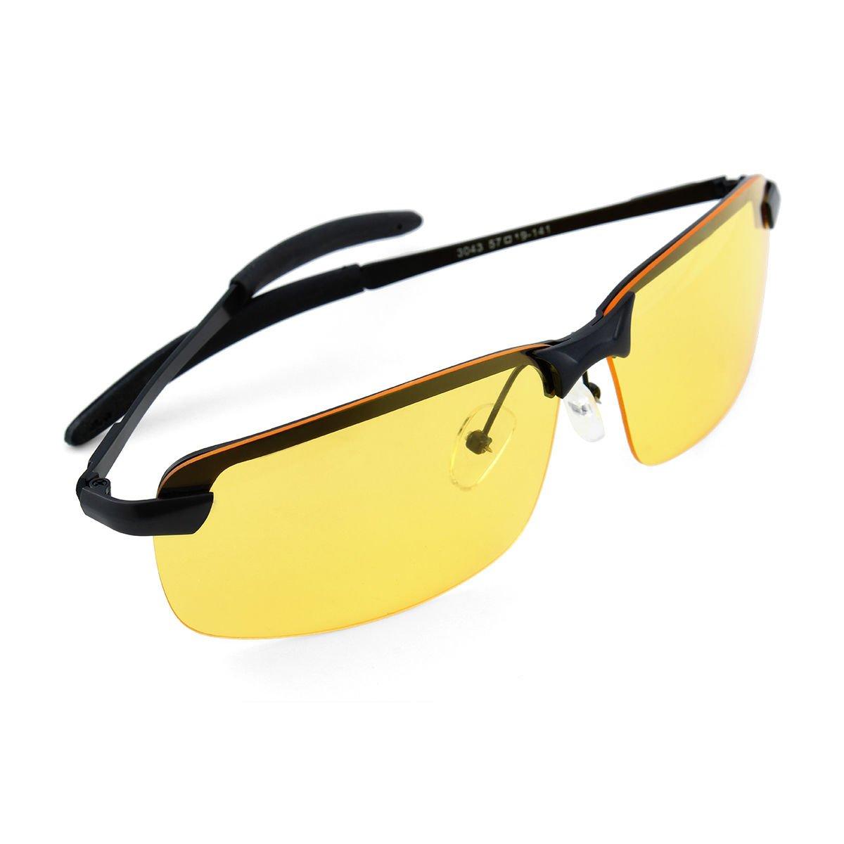 Smart guida notturna soluzione anti glare Vision HD occhiali prevenzione driver occhiali da sole iQV5AgJn9