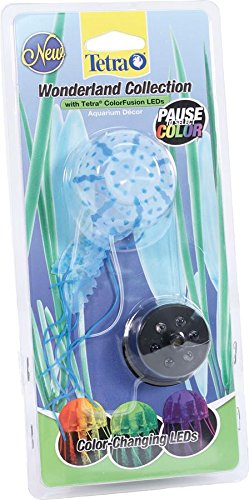 Image of Tetra 26654 Wonderland Collection LED Color-Changing Jellyfish