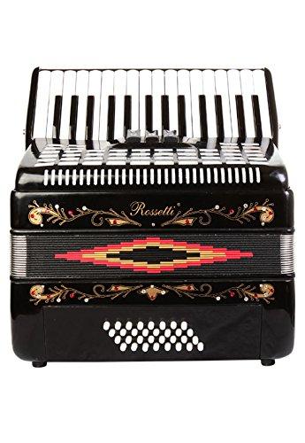 Rossetti Piano Accordion 32 Bass 30 Piano Keys 3 Switches Black by Rossetti (Image #5)