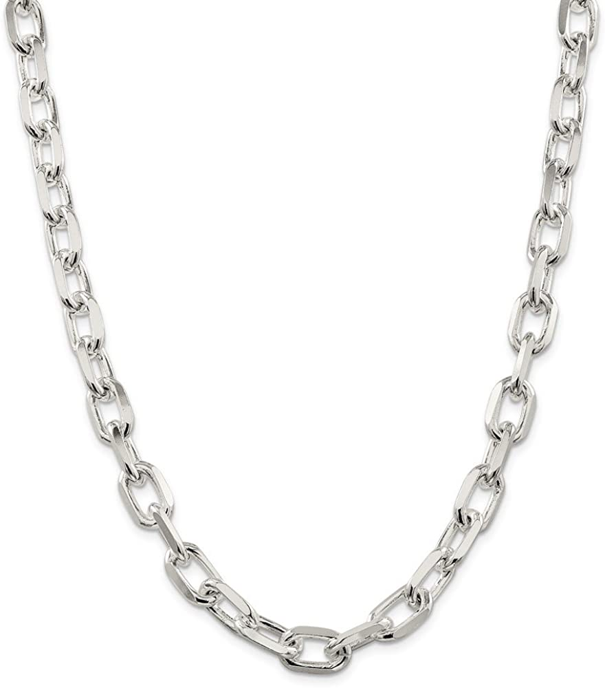 20 Sterling Silver 16.5 inch Flat Cable Link Chain Necklaces Wholesale Chains 925
