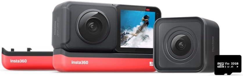 Insta360 One R Twin Edition Akku Kit 4k Action Kamera Kamera