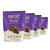 Neat Vegan - Black Bean Brownie Mix (11.6 oz.) (Pack of 4) - Non-GMO, Gluten-Free, Soy Free, Baking Mix