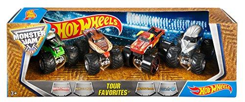 Детские машинки, Поезда Hot Wheels Monster