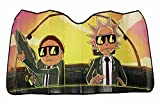 RICK AND MORTY Run The Jewels Accordion Auto Sunshade