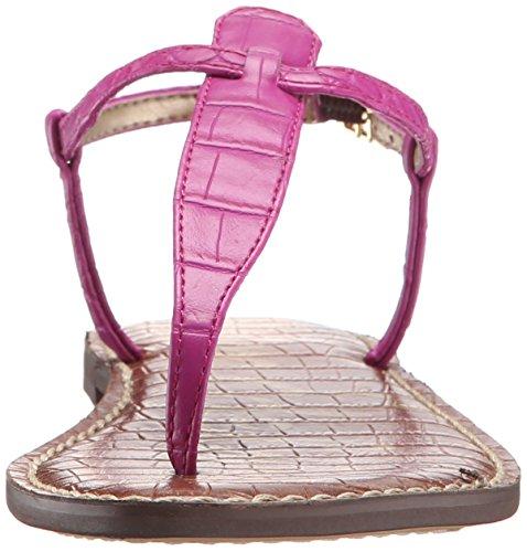 Sam Edleman Gigi - Chanclas para mujer Rosa - Pink (POP FUCHSIA NILE CROCO)