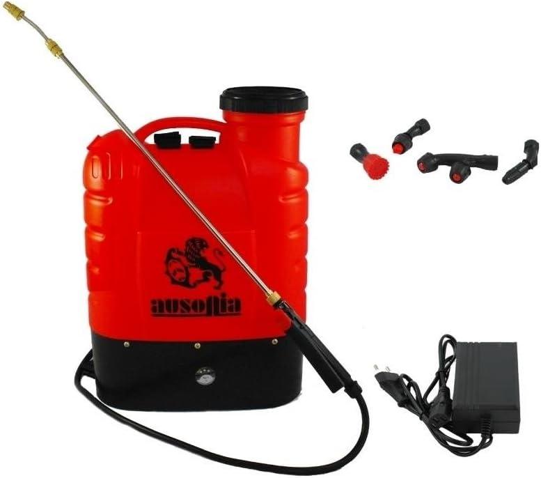 AUSONIA - Nebulizador de hombro con batería de litio, 10Ah, capacidad de 16L