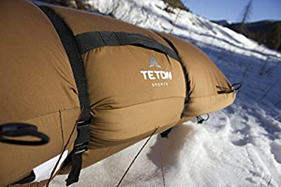 TETON Sports Camp Pad; Camping Sleeping Pad or Mat; Canvas Shell Foam Pad; Pairs Perfectly with TETON Sports Cot