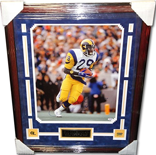 - Eric Dickerson Hand Signed Autographed Custom Framed 16x20 Photograph PSA/DNA