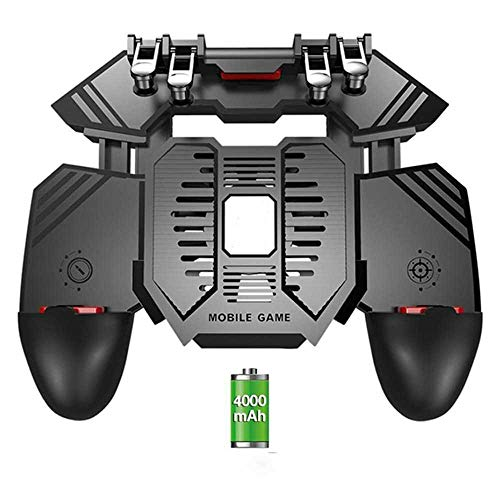 maofan Newly Arrived AK77 for THE PUBG Helper Mobile Game Board Radiator Handle Water-cooled Fan Six-finger PUGB Gamepad…