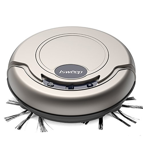 Smart Robotic Vacuum Cleaner Automatic Vaccum Robot Sweeper Tangle-free Suction for Pet Hair Har ...