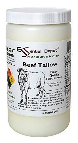 Beef Tallow Finest Quality Food Grade - 32 oz. - 2 lb. - 1 Quart by Essential Depot (Image #8)
