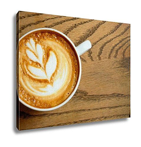 Ashley Canvas Cappuccino Cups Wall Art Decoration Picture Painting Photo Photograph Poster Artworks, 20x25
