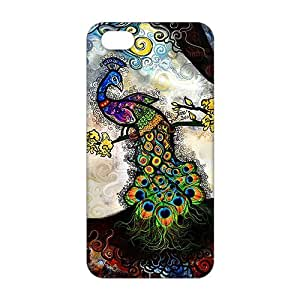 diy zhengCool-benz Colorful peacock 3D Phone Case for iPhone 6 Plus Case 5.5 Inch /