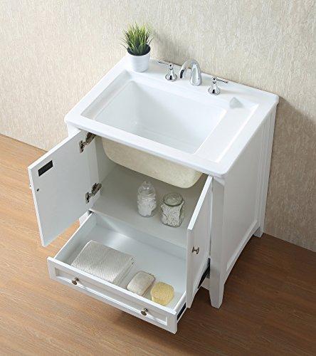 Stufurhome GM-Y01W 30.5-Inch Pure White Single Laundry Sink by Stufurhome (Image #18)