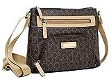 Calvin Klein Logo Zipper Crossbody Bag Handbag