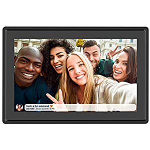 Best Epic Trends 51otue3pNZL._SS300_ Feelcare 10.1 Inch 16GB Smart WiFi Digital Picture Frame, Send Photos or Small Videos from Anywhere, Touch Screen…