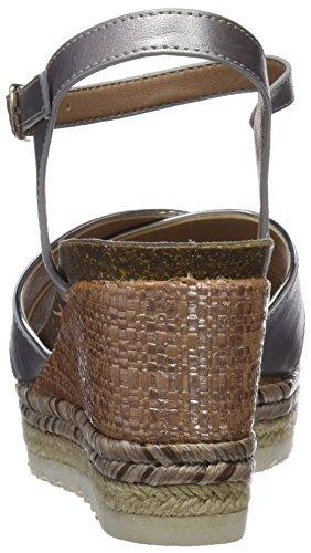 Refresh Women's 64087 Open Toe Sandals Silver niYXd