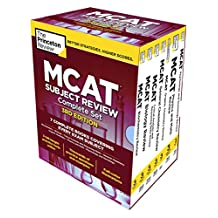 Princeton Review MCAT Subject Review Complete Box Set, 3rd Edition: 7 Complete Books + 3 Online Practice Tests