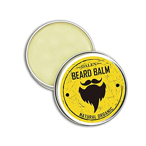 Ocamo Beard Balm Natural Organic Beard Balm Moisturizing Smoothing Moustache Wax for Dashing Gentlemen