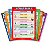 Theater & Drama (Complete set of 25) Educational Wall Charts/Posters in Laminated paper (large 33.5'' X 24'')