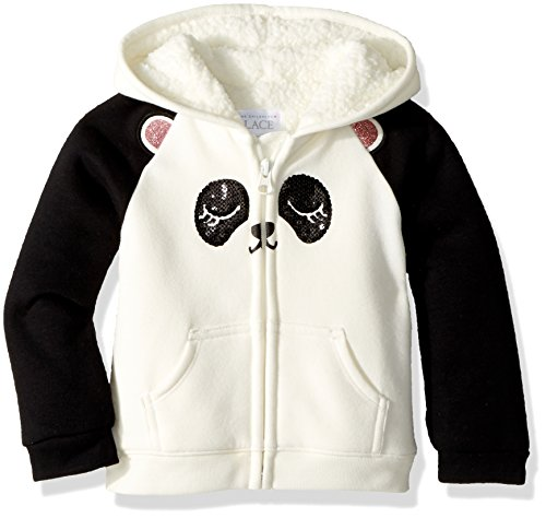 The Childrens Place Baby Girls Sherpa Hoodie