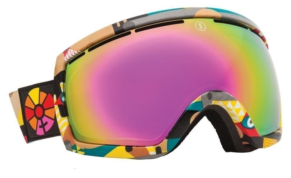 $120 Carrera Mens Crest White Blue OTG Fit Over Glasses Goggles Rosa Spy Lens