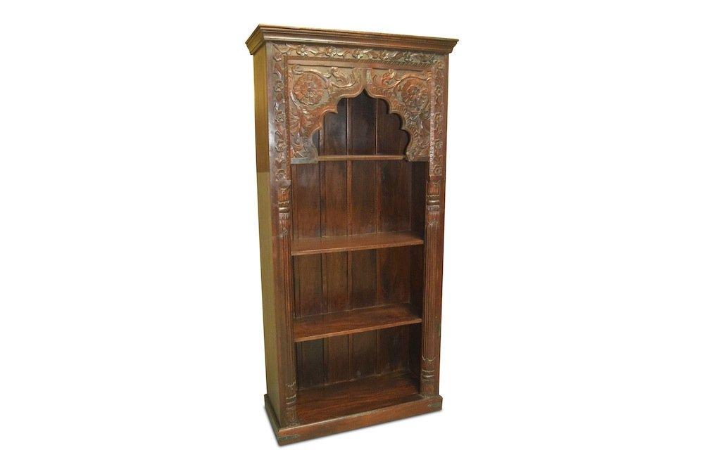 Bücherregal Pana, indisch, antik, orientalisch, Vintage, Neu